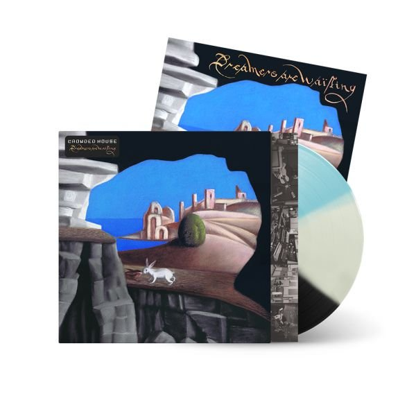 Dreamers Are Waiting Exclusive Tricolor LP + Signed Artcard
