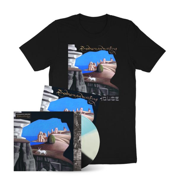 Dreamers Are Waiting (LP) Exclusive Tri Color Vinyl + Tee + Signed  Artcard