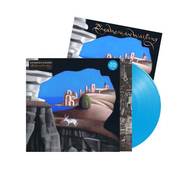 Crowded House - Dreamers Are Waiting Cyan Blue Vinyl + Signed Artcard
